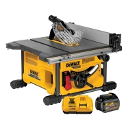 DEWALT DCS7485T1 Flexvolt 60V Max Table Saw Kit, 8-1/4-Inch