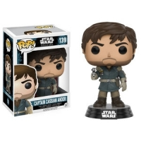 Funko Pop Star Wars Rouge one #139 captain cassian andor