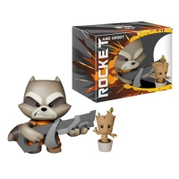 Super Deluxe vinyl collection Rocket and baby Groot