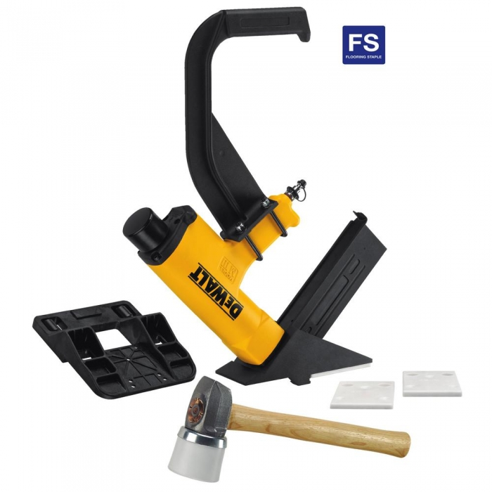 Dewalt 15.5GA Flooring Stapler Kit