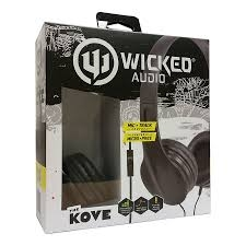 Wicked Audio the kove headset and mic black