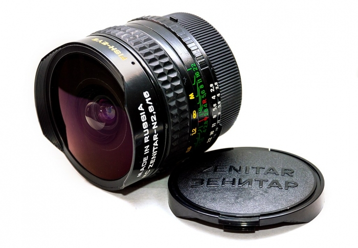 Zentiar 16 mm fish eye lens
