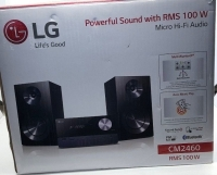 lg powerful sound with rms 100 w micro hi-fi audio